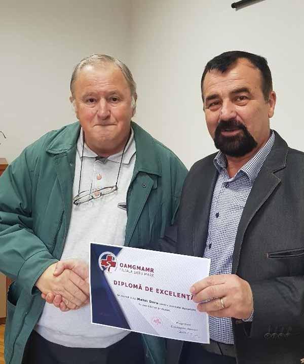Asistentul care a salvat o fetiță de la înec, premiat