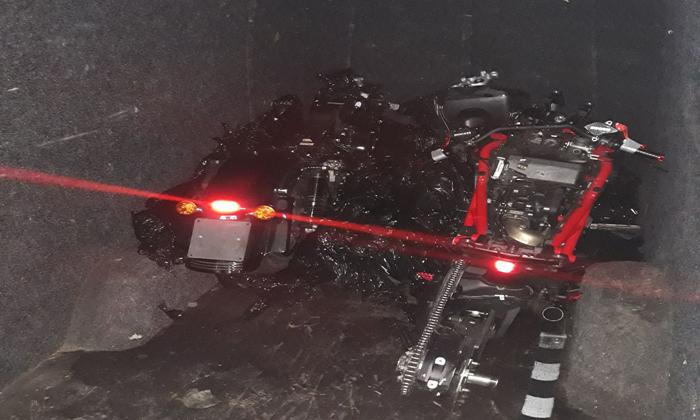 Trafic cu motociclete dezmembrate (Foto)