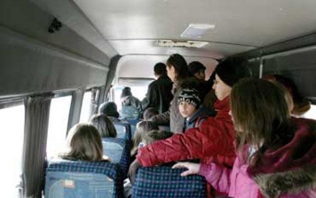 Șoferi de microbuze, amendați