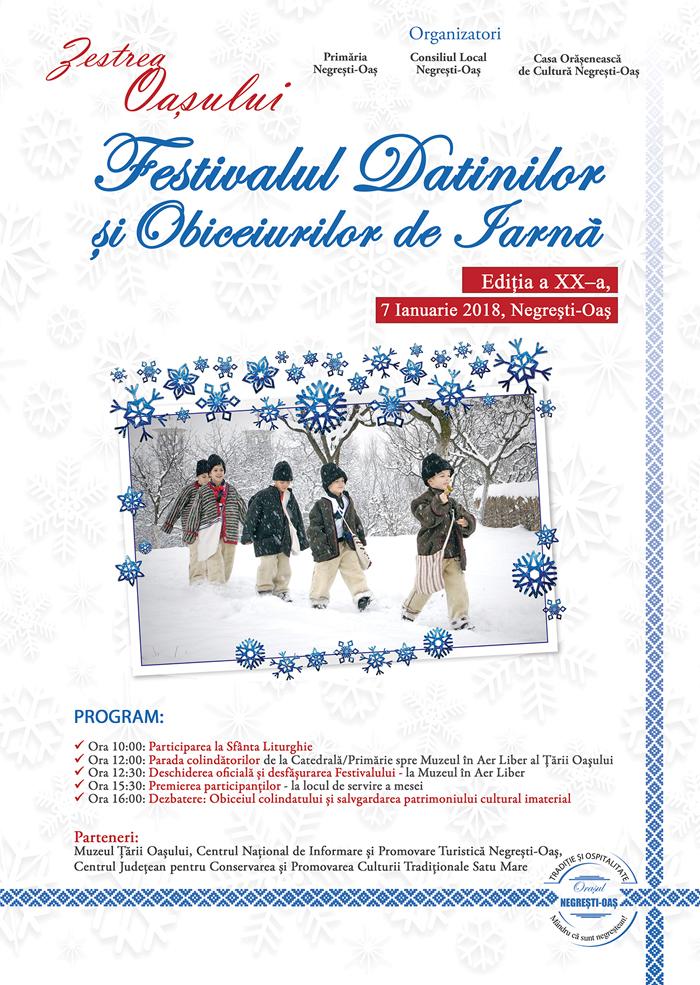Festivalul Datinilor şi Obiceiurilor de Iarnă, ediția a XX-a