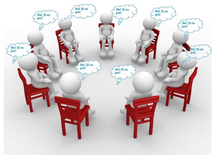 Grup de dezvoltare personală la Biblioteca Județeană