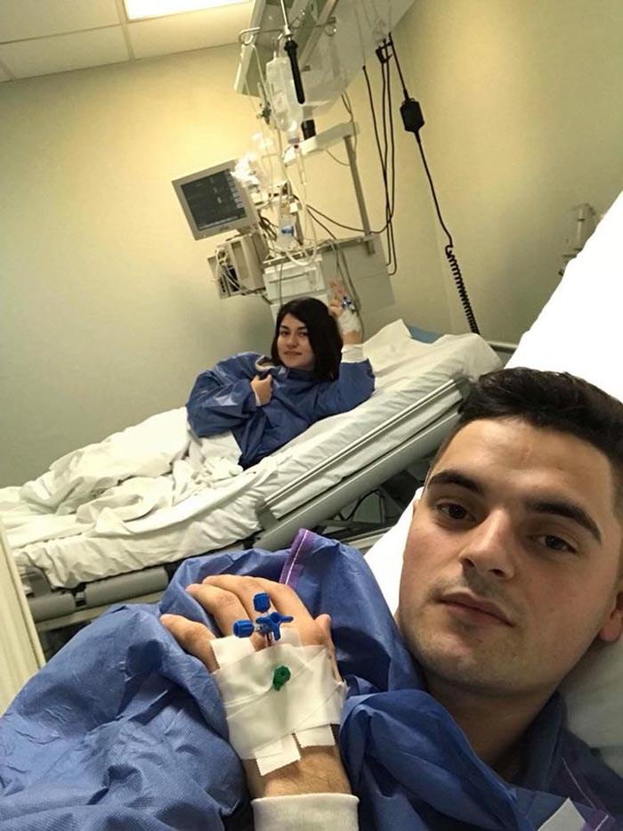 Romeo Kulcsar iese din spital. A donat o parte din ficatul său pentru a salva viața unei tinere