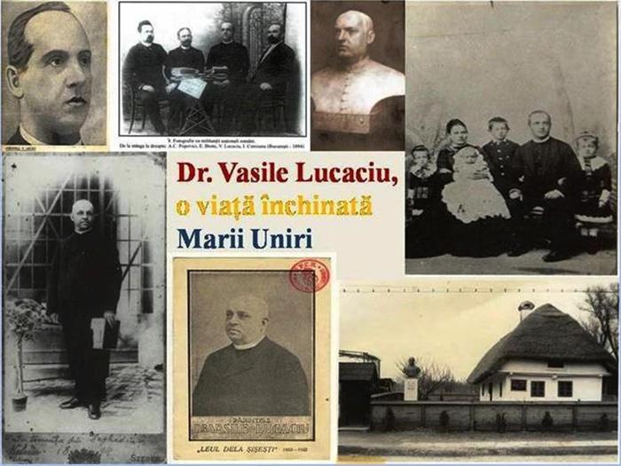 Dr. Vasile Lucaciu, o viață închinată Marii Uniri