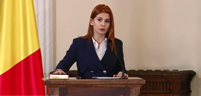 Ministrul Tineretului și Sportului, Ioana Bran, a depus jurământul