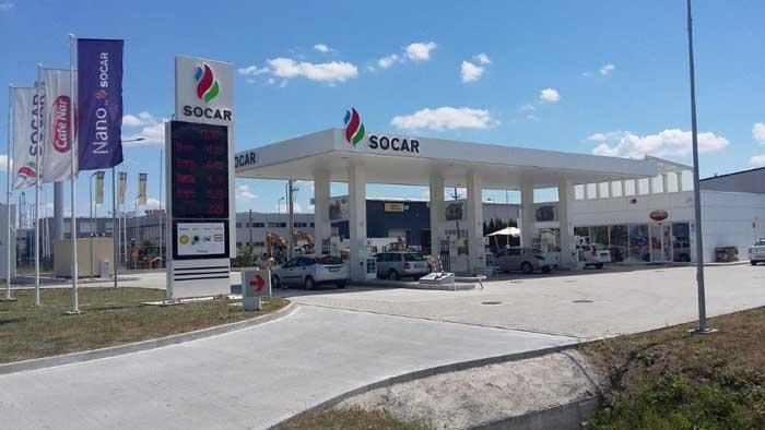Cu cea de la Satu Mare, SOCAR va avea 46 de benzinării în România