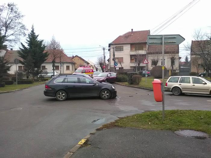 Accident grav în Piața Titulescu (Foto)