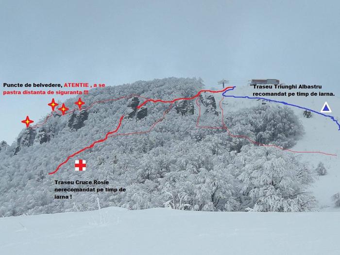 Risc de avalanșă în zona Oașului (Foto)