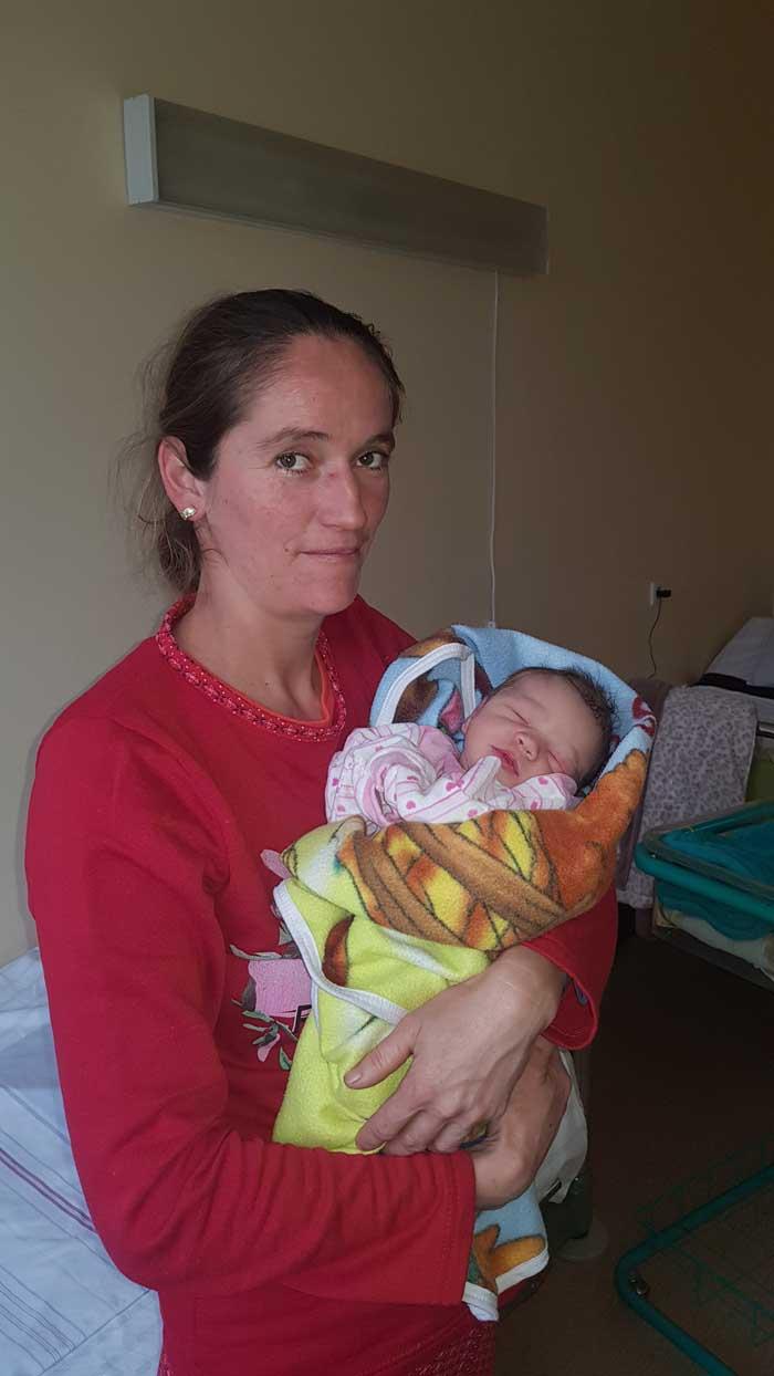 Un băiețel, primul născut în acest an la Spitalul Județean