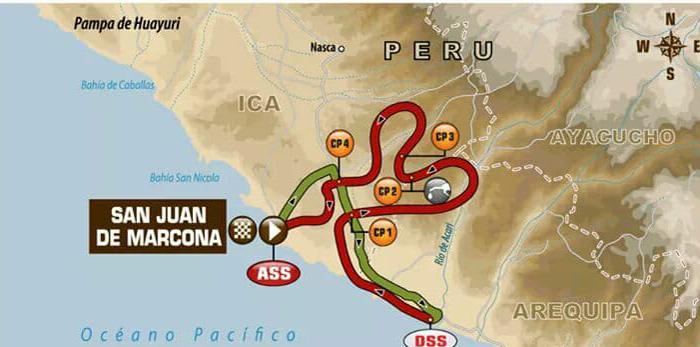 Raliul Dakar continuă printre dunele de nisip