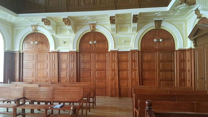 Bijuterie arhitecturală. Palatul de Justiție a fost reabilitat (Foto)