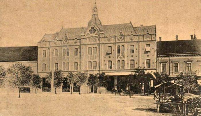 """Cum arăta fosta """"bijuterie"""" a Sătmarului, cu 100 de ani în urmă (Foto)"""