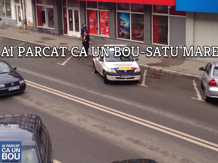 Polițiștii locali au comis-o din nou ! Cum și-au parcat mașina (Foto)