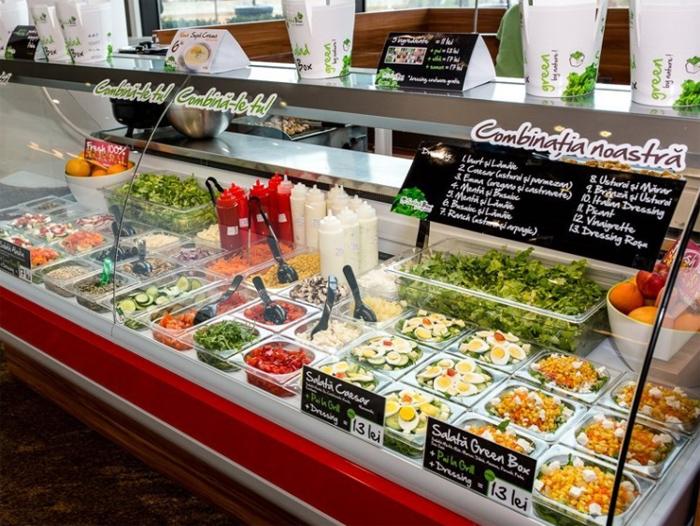 Salad Box și-a lansat propria platformă de livrări