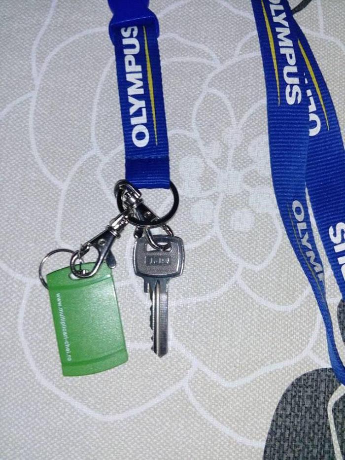Cheie pierdută pe stradă. Se caută proprietarul (Foto)