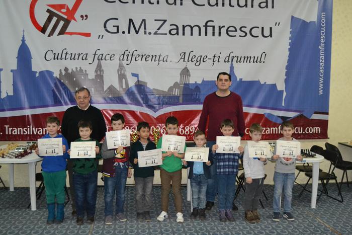 Zeci de copii la Cupa Județului Satu Mare la șah (Fotogalerie)