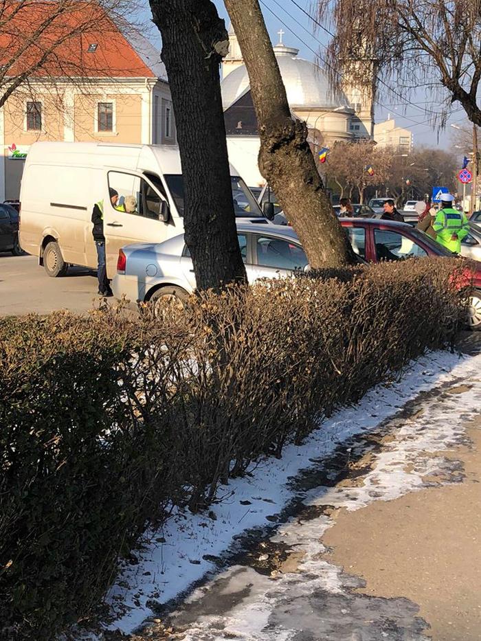 Șofer drogat, oprit în centrul Sătmarului (Foto)