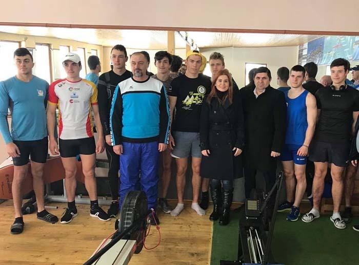Ministrul Ioana Bran a vizitat complexele sportive aparținând MTS (Fotogalerie)