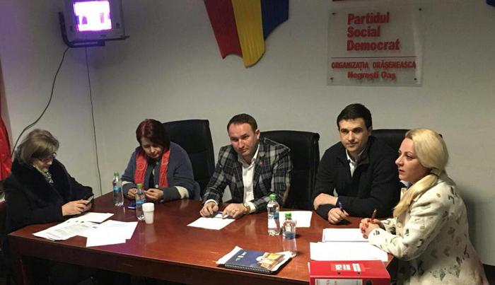 Organizația PES activists, constituită în Negrești-Oaș