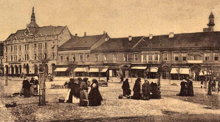 Așa arăta Centrul Vechi, cu mai bine de 100 de ani în urmă (Foto)