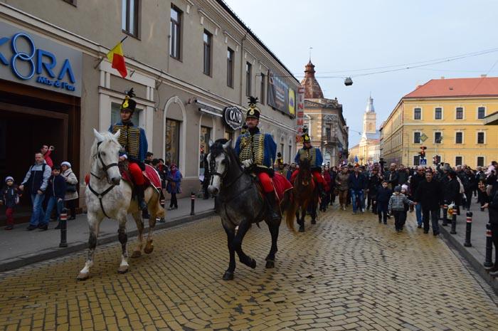 Defilare cu husari la Satu Mare (Fotogalerie)