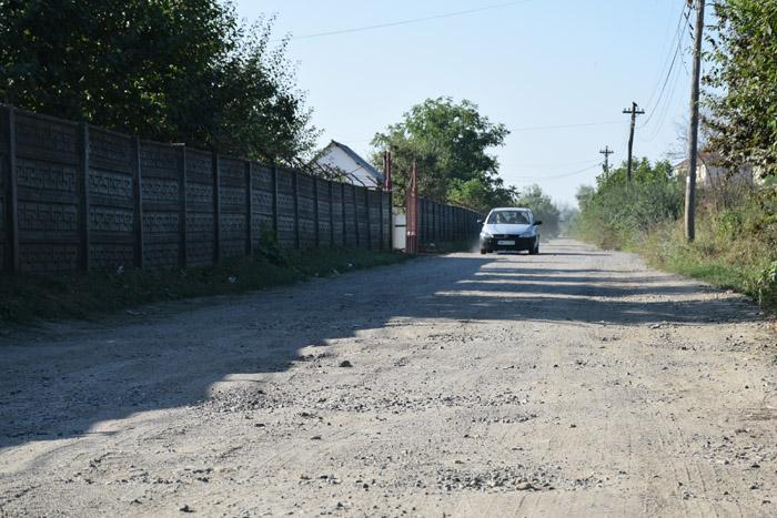 Au reînceput lucrările pe strada Lunca Sighet