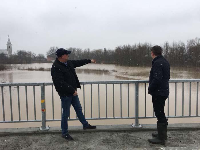Pericol de inundații pe râul Ier. Ce spune prefectul Darius Filip