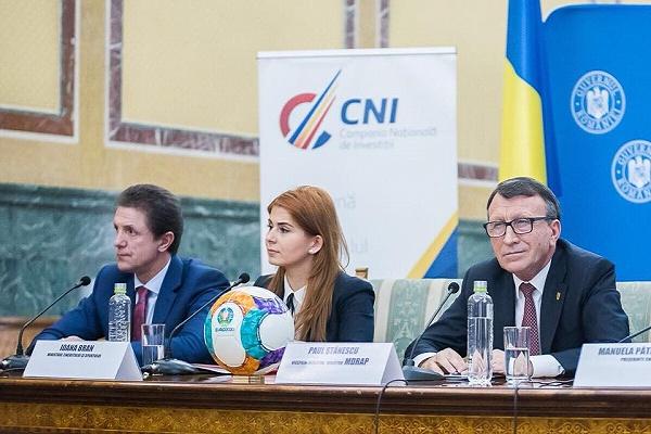 Ministrul Ioana Bran a prezentat stadiul investițiilor pentru EURO 2020