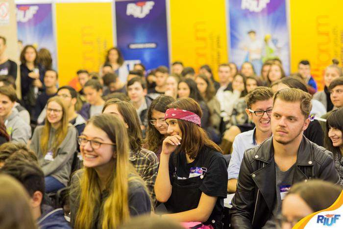 Peste 70 de universități și instituții educaționale din România și din străinătate sunt prezente la RIUF