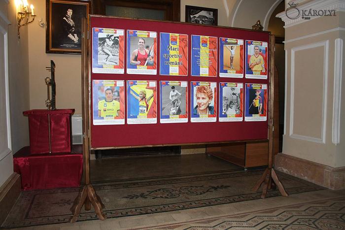 Români care au scris istorie. Expoziție dedicată marilor sportivi