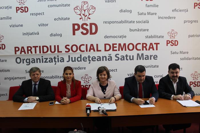 PSD Satu Mare propune peste 200 de investiții pentru județ