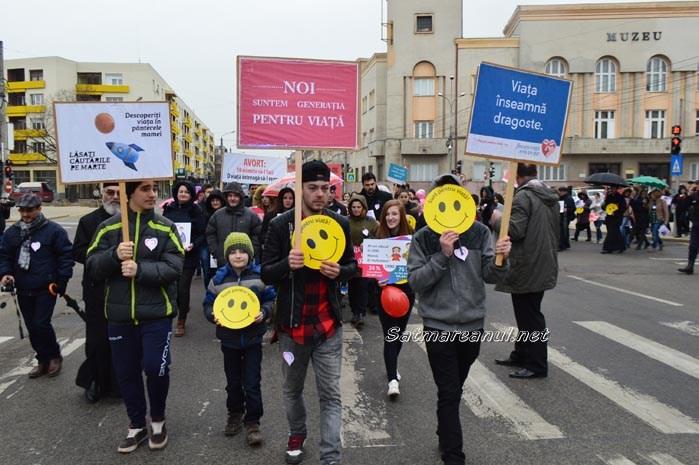 """""""Marșul pentru Viață"""", sâmbătă, la Satu Mare"""