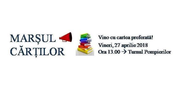 Marșul cărților ! Eveniment inedit la Satu Mare !