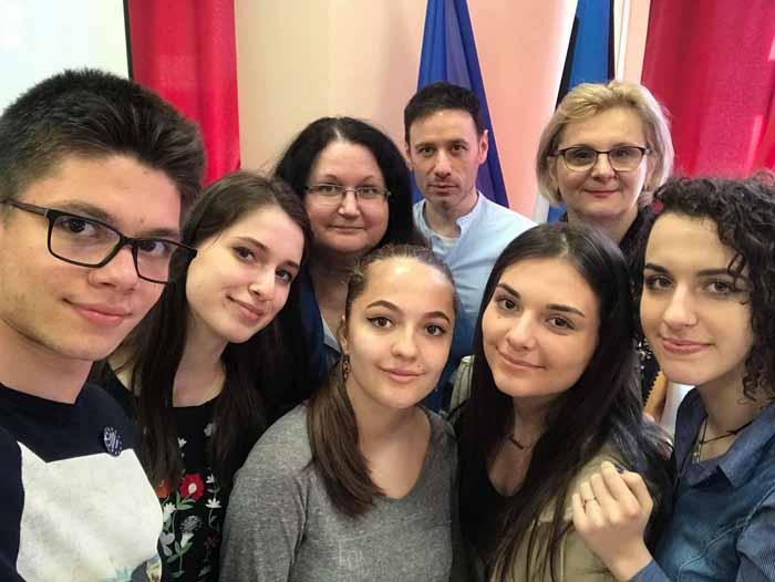Liceu din Satu Mare, implicat într-un proiect european (Foto)