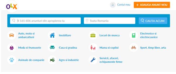 Modificări la OLX: Un utilizator poate publica într-o lună doar 3 anunţuri gratuite