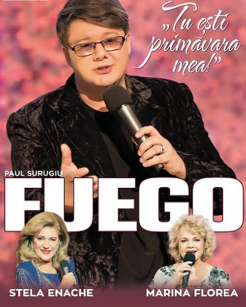Concert Fuego. Când și unde va avea loc