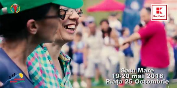 Sătmărenii sunt invitați la Festivalul Bucurie în Mișcare