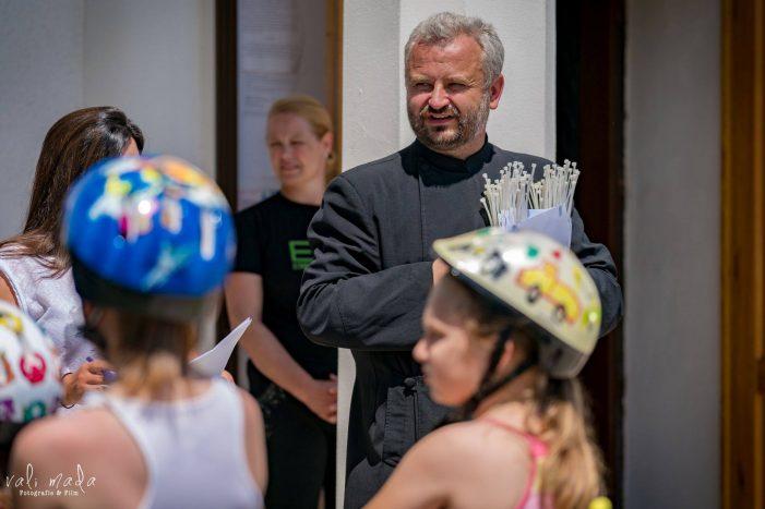 Actiune sportiva organizata de un preot din judet (Foto)