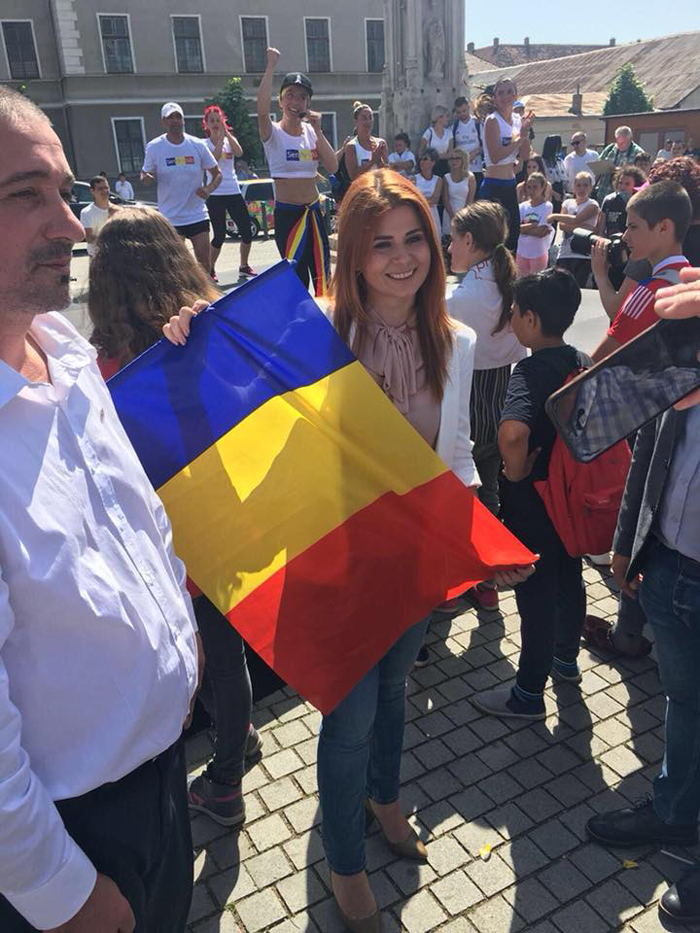 "Ministrul Ioana Bran a marcat ""Ziua Tineretului"" la Alba Iulia (Foto)"