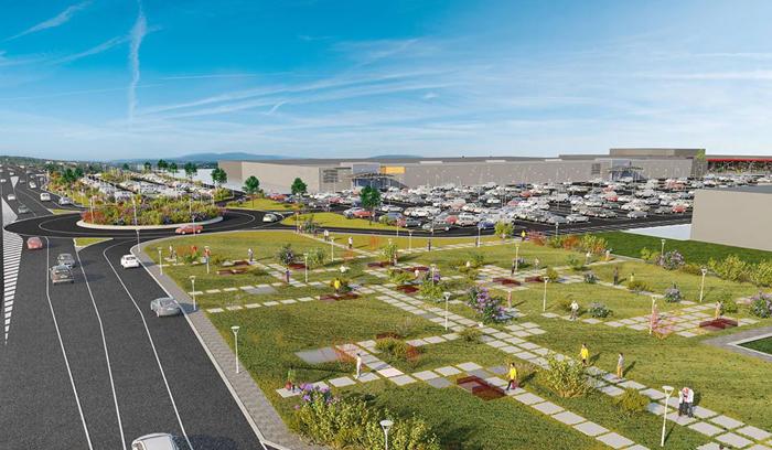 Cum va arăta cartierul de lângă Auchan (Foto)