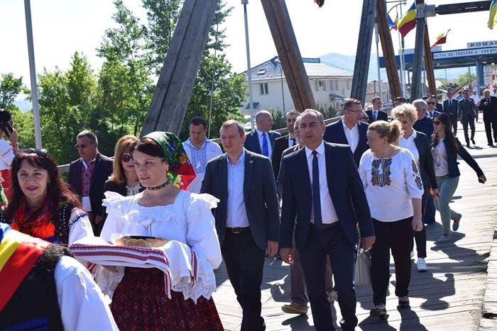Ziua Bunei Vecinătăți Româno-Ucrainene. Guvernatorul Regiunii Transcarpatia, invitat la Satu Mare (Foto)