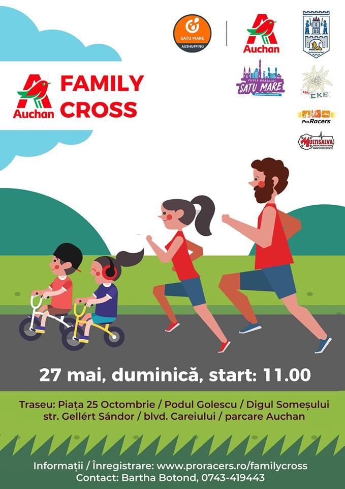 """""""Auchan Family Cross"""" la Satu Mare"""