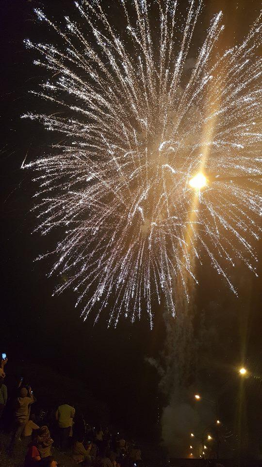 Foc de artificii pe cerul Satmarului (Foto)