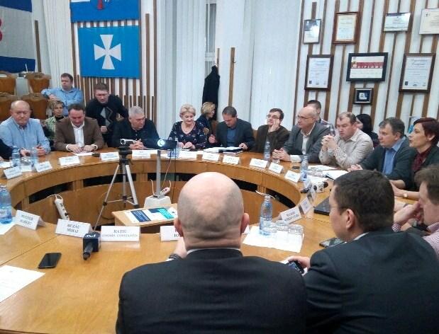 Apaserv-ul pe ordinea de zi a ședinței de Consiliu Local