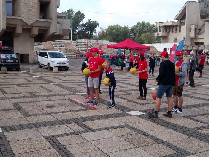 Bucurie în Mișcare. Două zile de festival în centrul Sătmarului (Foto)