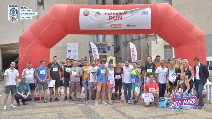 Un nou record la Auchan Tower Run ! Cine a stabili recordul (Fotogalerie)
