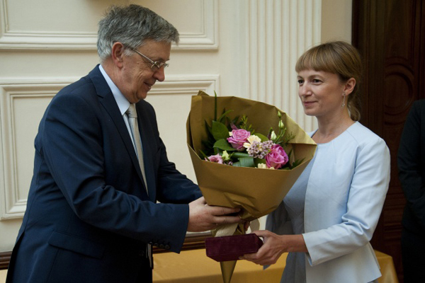 Sătmăreancă, medaliată de Academia Ungară de Științe