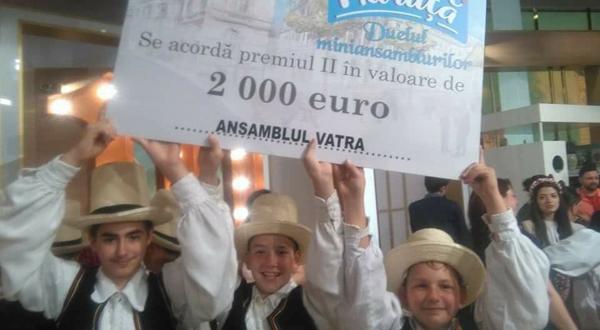 """Felicitări ! Ansamblu """"Vatra"""", locul II pe țară"""