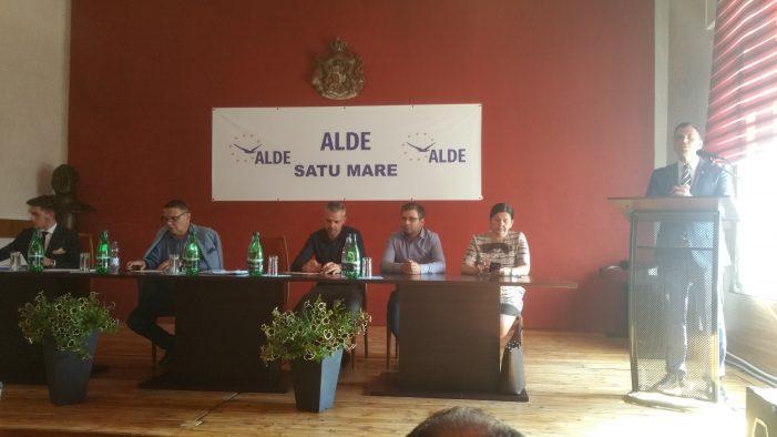 ALDE Satu Mare si-a ales conducerea. Cine este presedinte la municipiu (Foto)