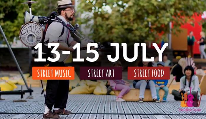 Street Music Festival. 70 de concerte in cinci locatii