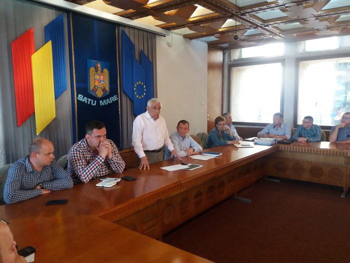 Ministrul Agriculturii, Petre Daea, in vizita la Satu Mare (Foto)